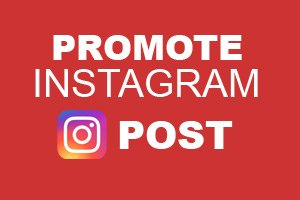 How to promote your instagram post
