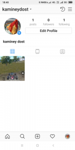 remove Promote button from Instagram