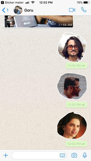 How to Make WhatsApp Stickers in iPhone
