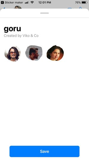 Quick guide to Make WhatsApp Stickers in iPhone