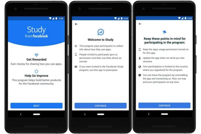 Make Money from Study from Facebook App