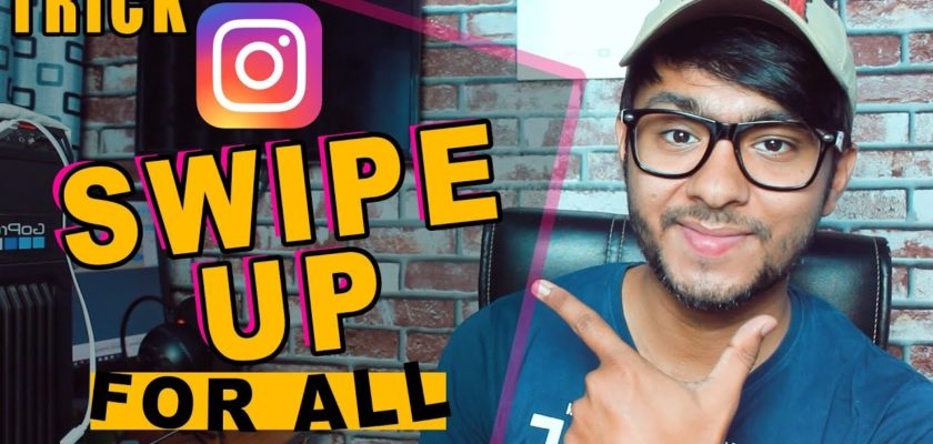 How to add swipe up link to instagram story without 10k followers