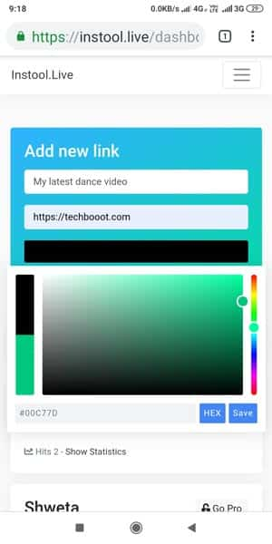 How to add a youtube link on instagram bio