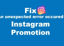 Fix an unexpected error occurred on Instagram