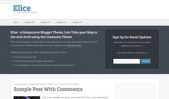 fast blogger templates