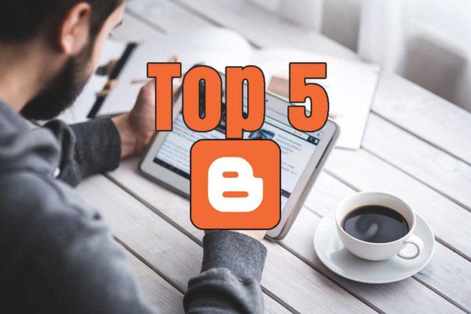 5 Top Free Blogger Templates