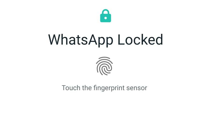 How to enable Fingerprint Lock on WhatsApp 2019 2