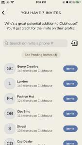 Clubhouse Invite Code Free
